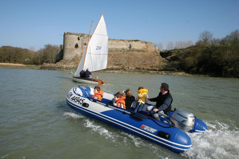 sun marine bateau pneumatique