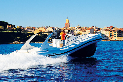 photo essai bateau pneumatique : Scanner One 999 WA Scanner