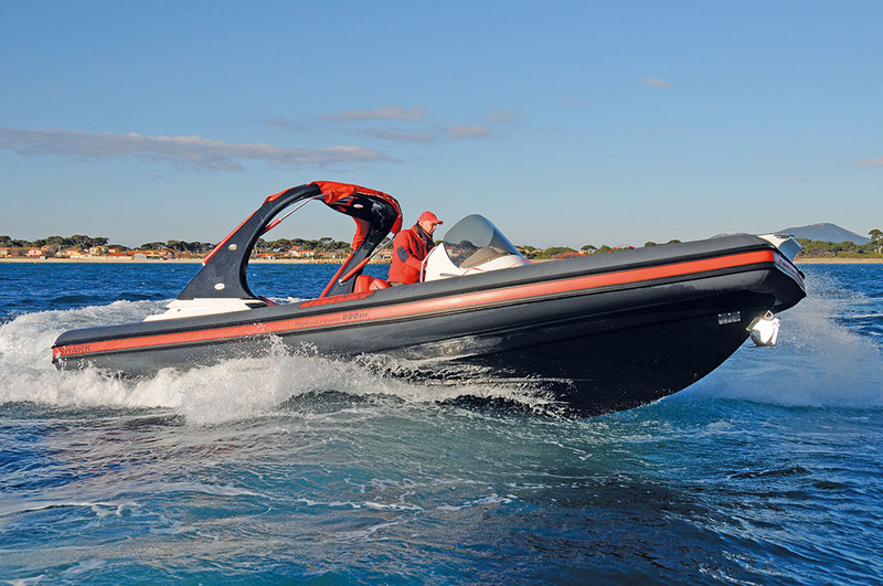 photo essai bateau pneumatique : Mainstream 800 EFB Joker Boat