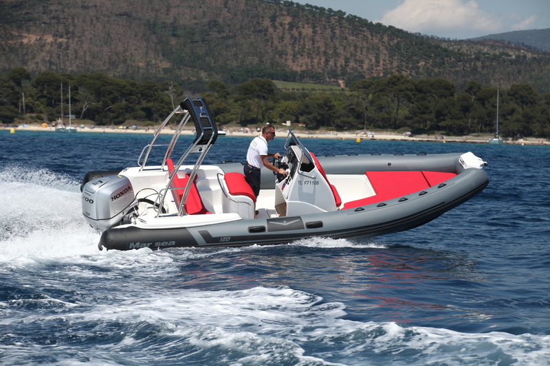 photo essai bateau pneumatique : Comfort 120  Mar.sea